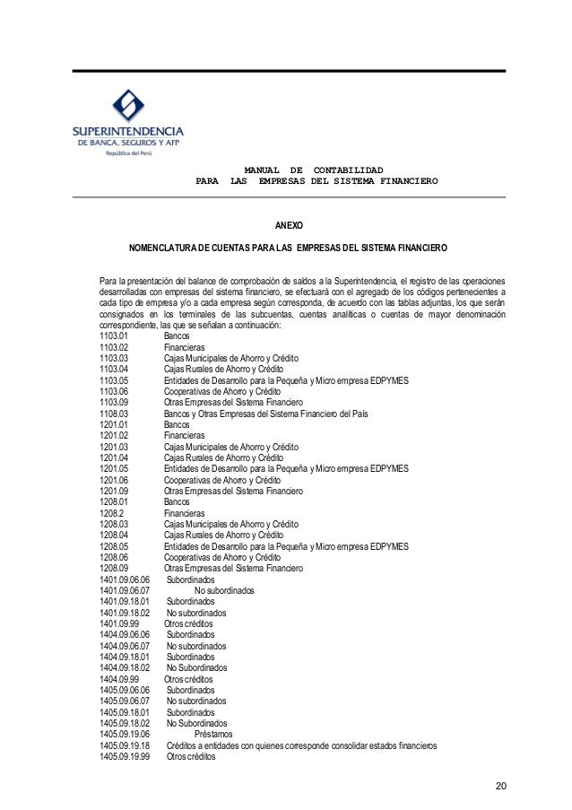 plan cuentas superintendencia compañias hyères