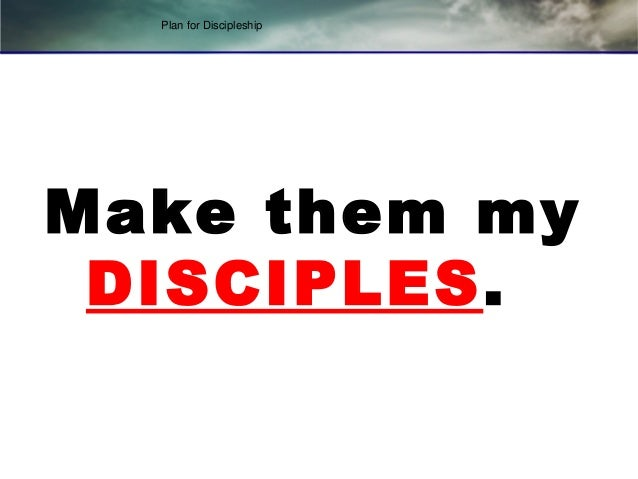 plan of discipleship Explore the companion volume to robert coleman's best-selling the master plan of evangelism in the master plan of discipleship, coleman searches the book of acts for principles of church growth through evangelism and discipleship.