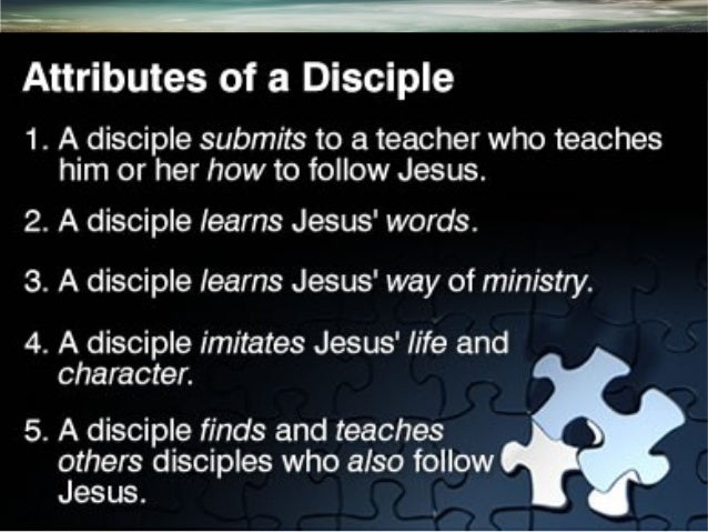 8 STEPS IN CHRISTIAN DISCIPLE MAKING