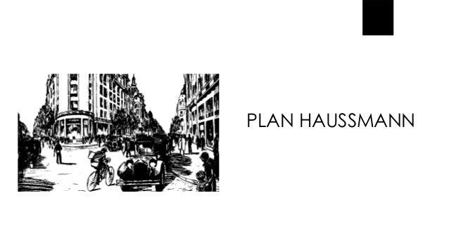 PLAN HAUSSMANN