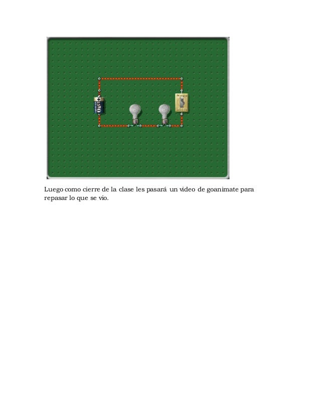 Planificación circuito electrico Slide 3