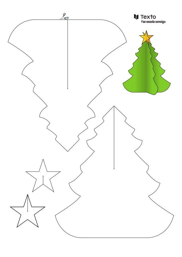 Planificação de  árvore de Natal