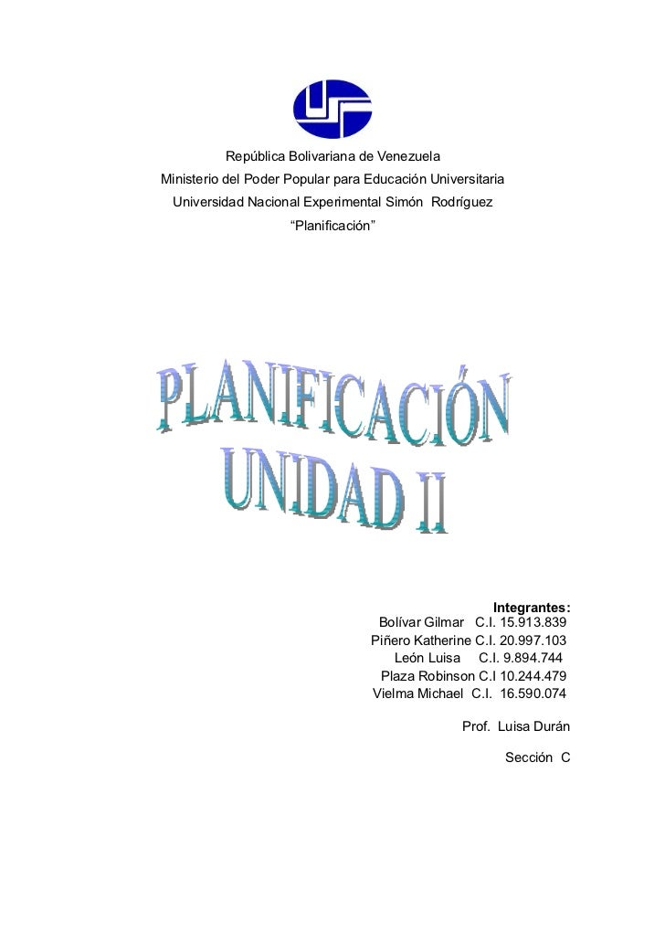 ELABORE UNA PLANIFICACIÓN DE LA GERENCIA EFECTIVA