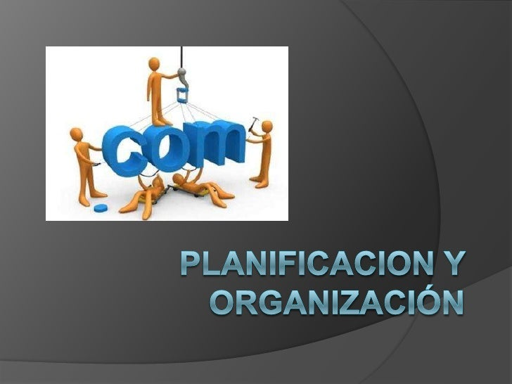 PLANIFICACIÓN      YORGANIZACIÓN    Cubre la estrategia, tácticas y                formas como la tecnología de           ...