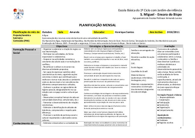 EscolaBásicado1ºCiclocomJardim‐de‐infância S.Miguel‐EnxaradoBispo AgrupamentodeEscolasProfessorArmando...