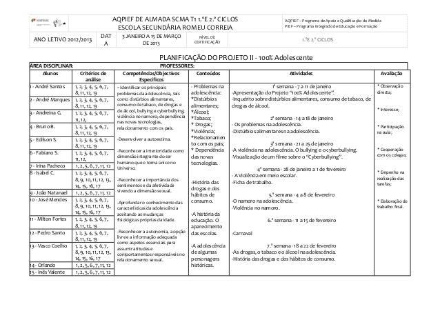 AQPIEF DE ALMADA SCMA T1 1.ºE 2.º CICLOSESCOLA SECUNDÁRIA ROMEU CORREIAAQPIEF – Programa de Apoio e Qualificação da Medida...