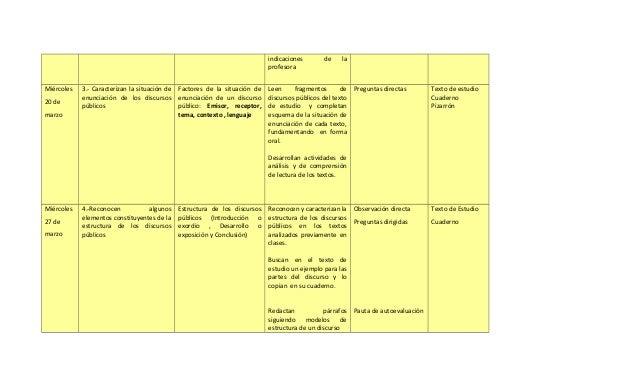 indicaciones       de    la                                                                             profesoraMiércoles...