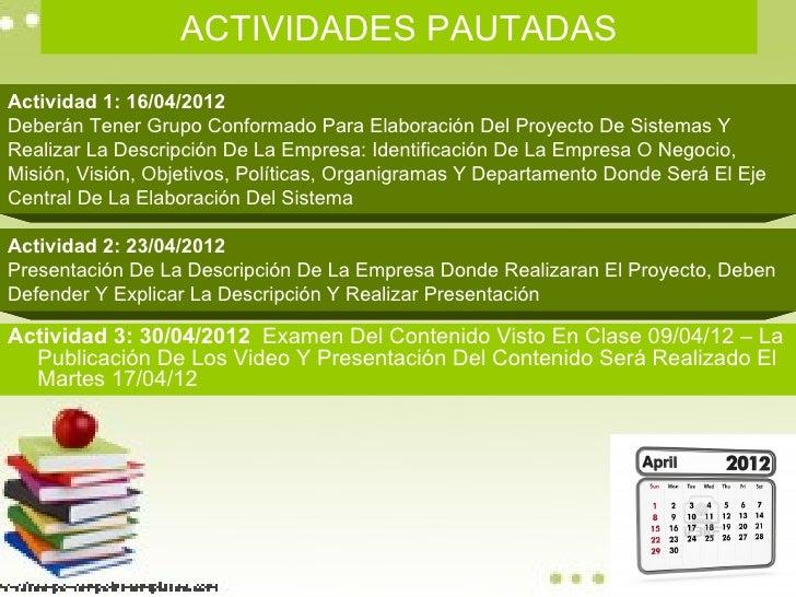 Planificación Corte I Slide 2