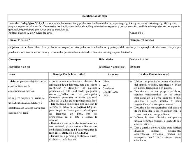 Famoso Plantilla De Plan De Lección De Clase Composición - Colección ...