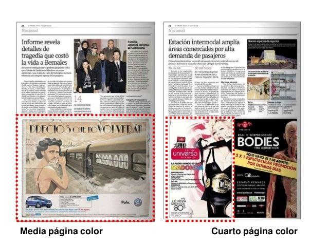 Media página color  Cuarto página color