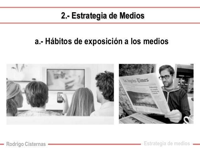 Estrategia de medios2.-Estrategia de Medios  c.-Medio troncal y complementarios  (definición desde lo creativo-comunicacio...