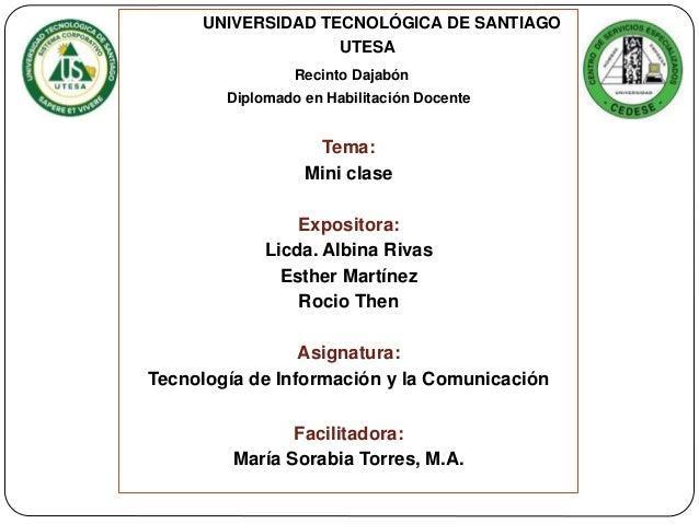 HOJA DE PRESENTACION DE UTESA PDF DOWNLOAD