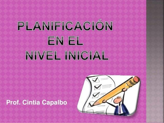 Prof. Cintia Capalbo