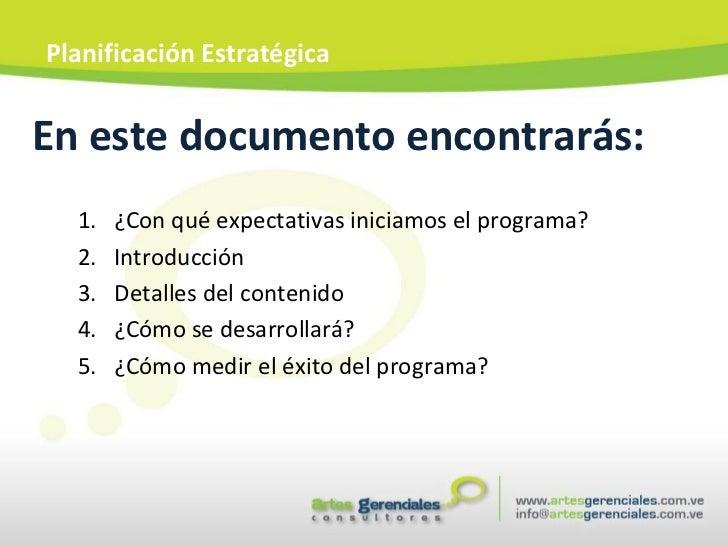 En este documento encontrarás: <ul><ul><li>¿Con qué expectativas iniciamos el programa? </li></ul></ul><ul><ul><li>Introdu...