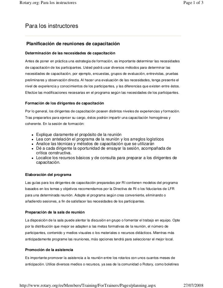 Rotary.org: Para los instructores                                                                          Page 1 of 3    ...