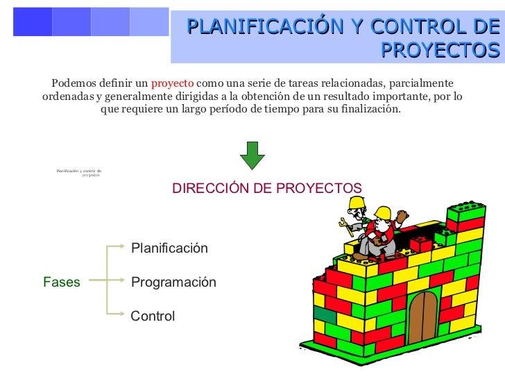 Planificacin y Control de Proyectos