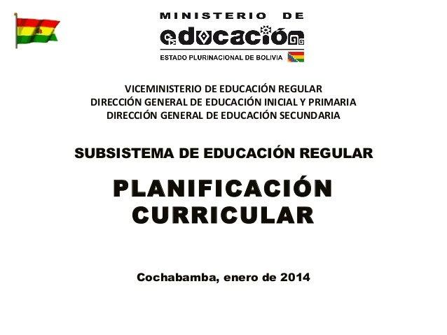 VICEMINISTERIO DE EDUCACIÓN REGULAR DIRECCIÓN GENERAL DE EDUCACIÓN INICIAL Y PRIMARIA DIRECCIÓN GENERAL DE EDUCACIÓN SECUN...