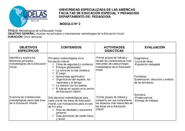 Planificacion de didactica educacion inicial for Planificacion de educacion inicial
