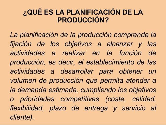 Planificacion Produccion 8
