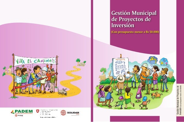 Gestión Municipal de Proyectos de Inversión (Con presupuesto menor a Bs 50.000)
