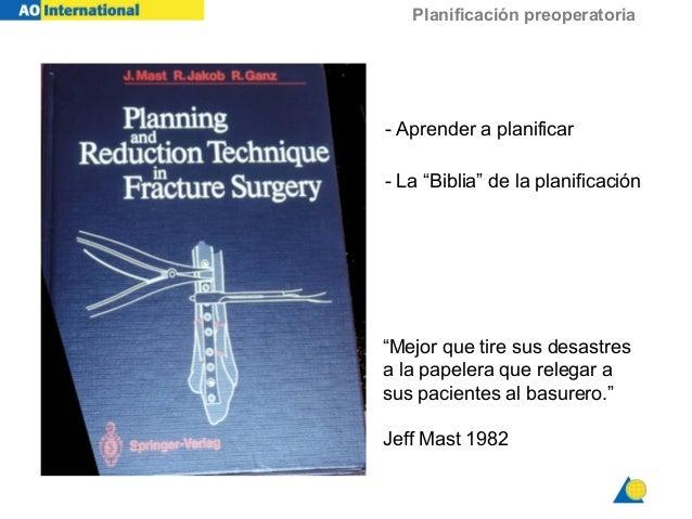 """Planificación preoperatoria - Aprender a planificar - La """"Biblia"""" de la planificación """"Mejor que tire sus desastres a la p..."""