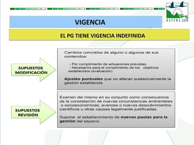 VIGENCIAVIGENCIA EL PG TIENE VIGENCIA INDEFINIDAEL PG TIENE VIGENCIA INDEFINIDA