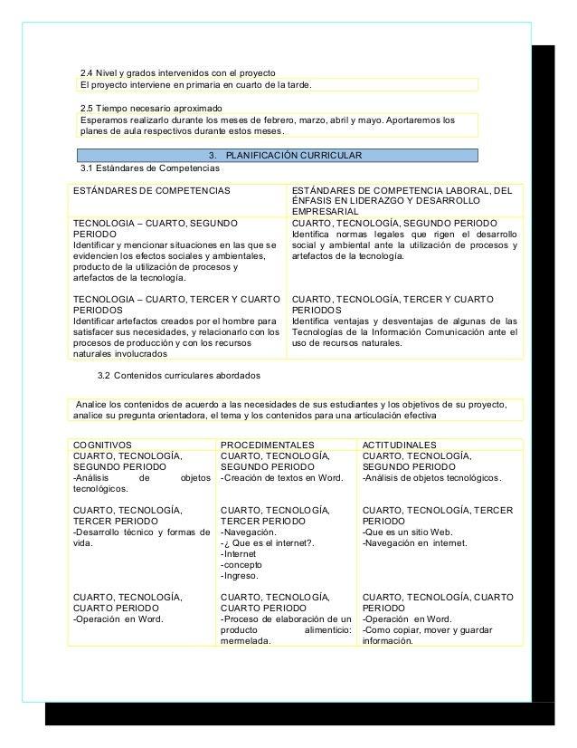 Planificador de proyectos plantilla paola gomez ye