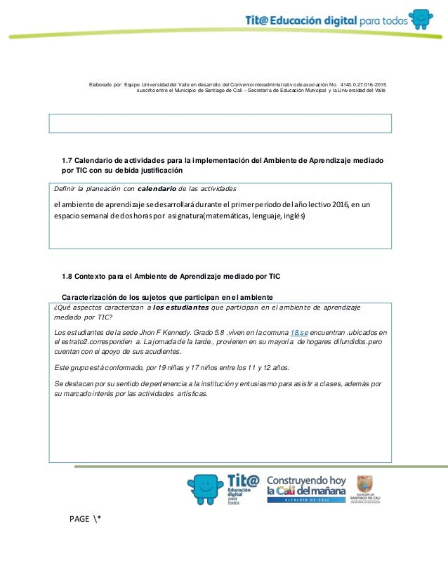 Elaborado por: Equipo Univ ersidad del Valle en desarrollo del Conv enio interadministrativ o de asociación No. 4143.0.27....