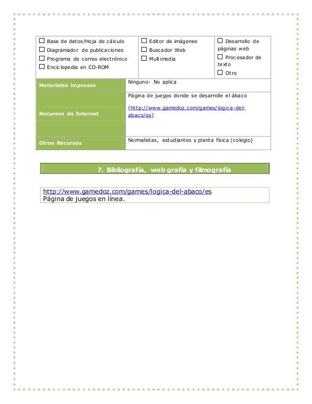 Base de datos/Hoja de cálculo Diagramador de publicaciones Programa de correo electrónico Enciclopedia en CD-ROM Editor de...