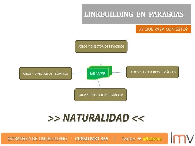 ¿Y QUÉ PASA CON ESTO? LINKBUILDING EN PARAGUAS FOROS Y DIRECTORIOS TEMÁTICOS MI WEB FOROS Y DIRECTORIOS TEMÁTICOSFOROS Y D...