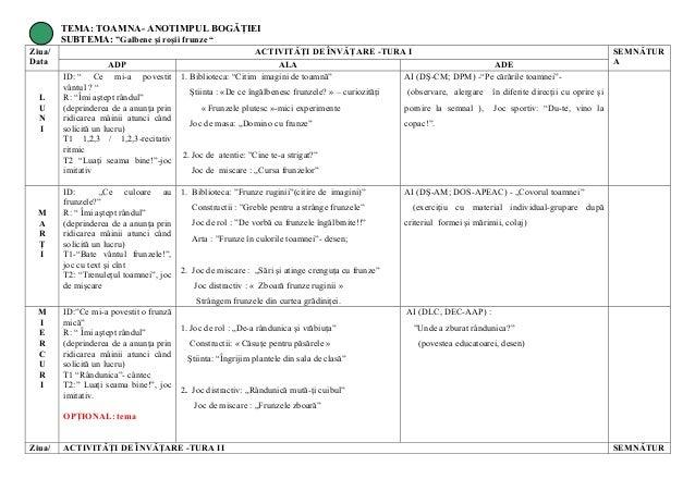 Planificare Orientativa Proiect Toamna 638 Cb Tematic Grupa Mijlocie