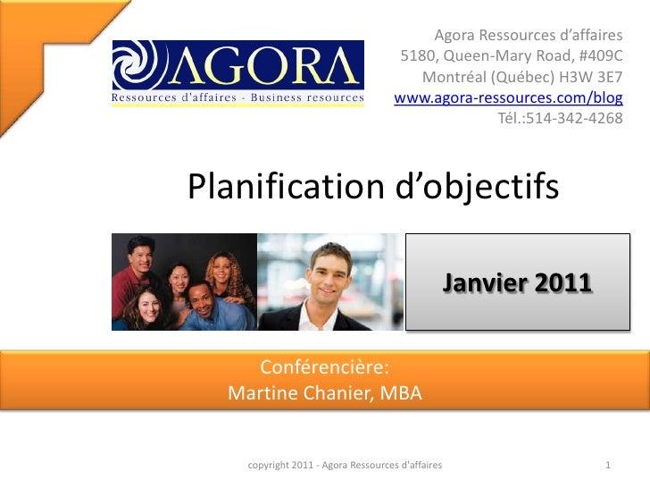 Planification Dobjectifs A