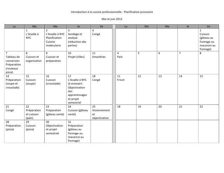 Planification provisoire