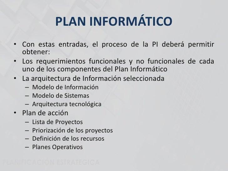 Plan Informático