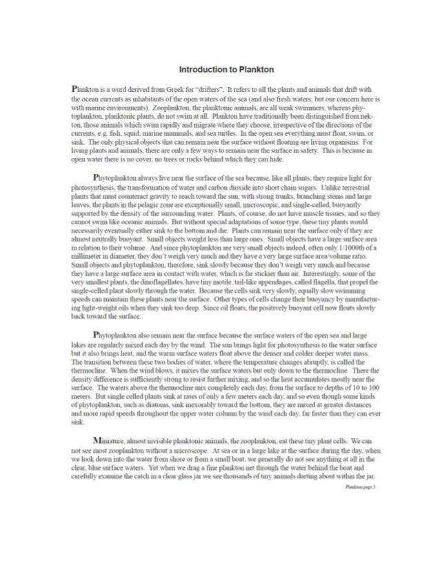 Plankton article