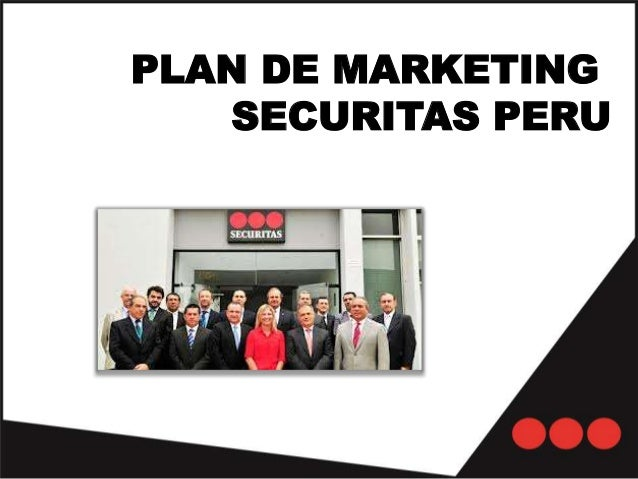 PLAN DE MARKETING SECURITAS PERU