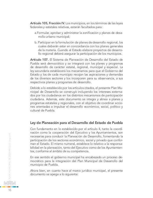 Plan Municipal de Desarrollo 2014-2018