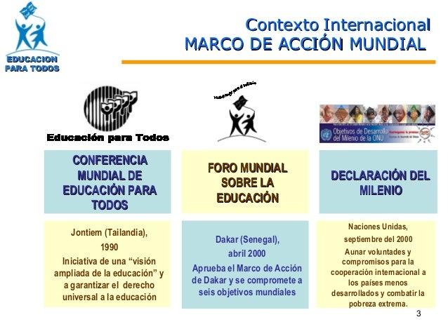 Plan nacional de educacion Slide 3