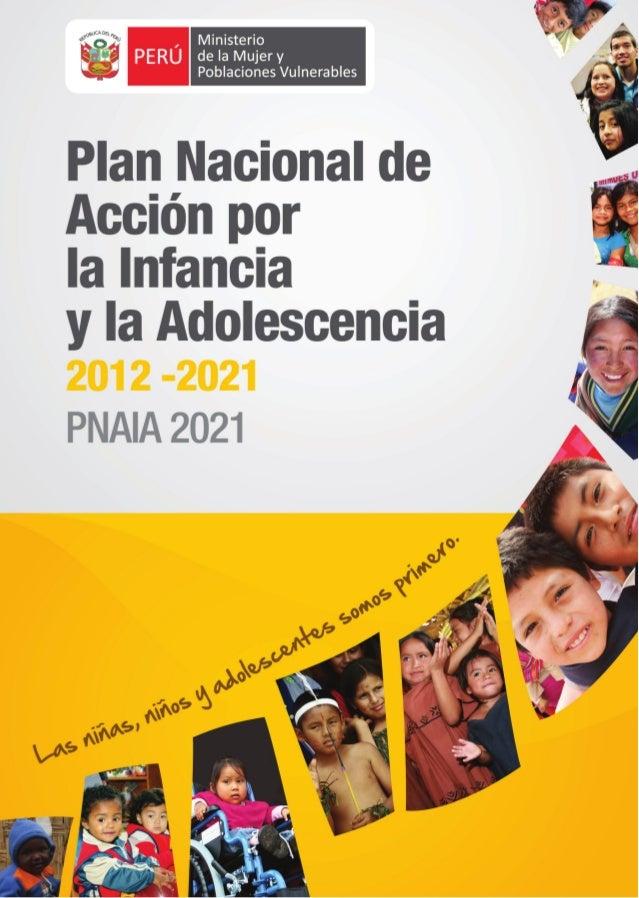 Ministerio de la Mujer y Poblaciones Vulnerables  Hecho el Depósito Legal en la Biblioteca Nacional del Perú Nº 2012-04892...