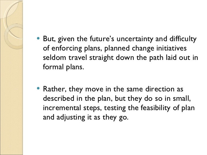 transformation change plan essay Understanding change and change during times of change  3112 south australian tourism plan (2009 – 2014) 118.