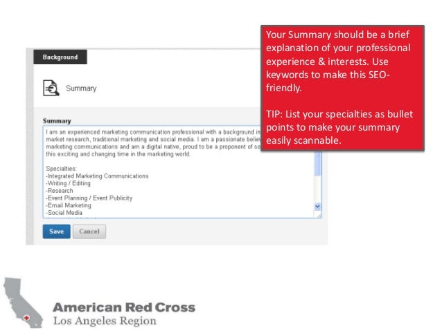 Additional information common app resume