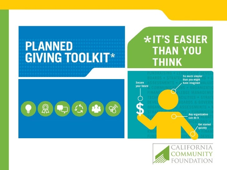 planned giving presentation introductionnonprofit leaders today are faced with doing more with less - Sample Planned Giving Letters