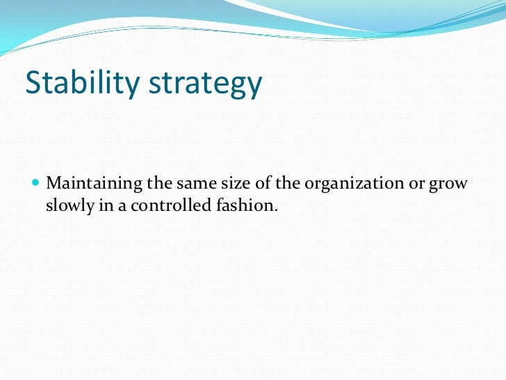Grand Strategy<br />The general plan of major action by which an organization intends to achieve its long-term goals.<br /...