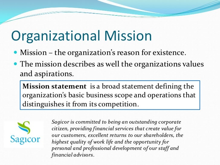 Scope Of Operations Business Plan