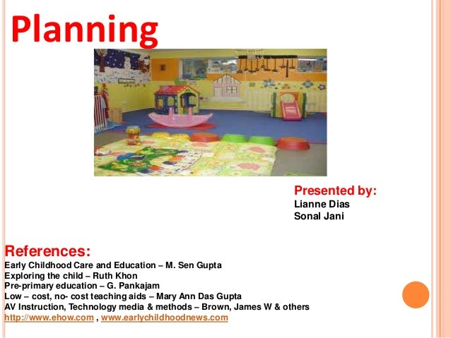 Planning in a Day care centre – Daycare Business Plan