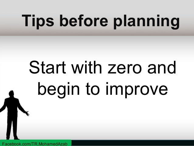 Tips before planning  What/who can help me? Facebook.com/TR.MohamedAzab