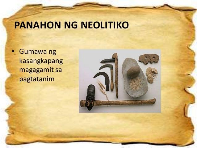 panahon ng neolitiko