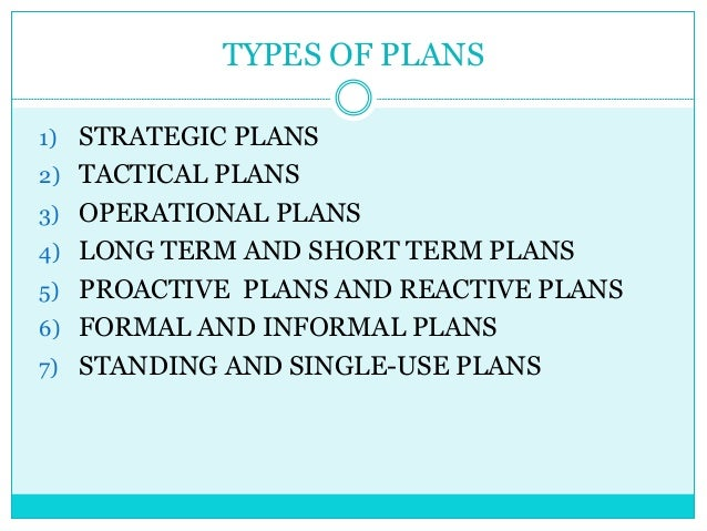 three factors that effect strategic tactical operational and contingency planning Chapter one introduction 11 background of the study around 1999, empirical researchers began to examine the performance and consequences of formal strategic planning (thune and house, 1999 ansoff et al, 2000 herold, 2001) and over 40 planning-performance studies have appeared since that time.