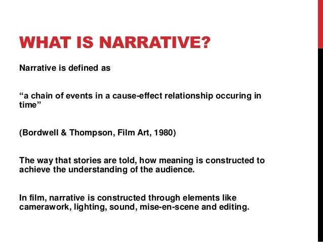 Narrative Theory With Links