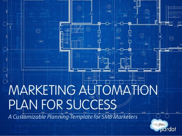 MARKETING AUTOMATION  PLAN FOR SUCCESS  A Customizable Planning Template for SMB Marketers